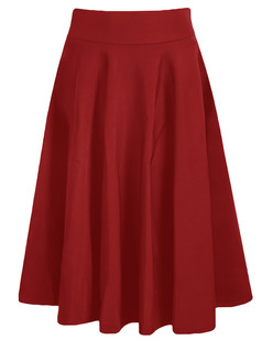 /high-waist-a-line-pleated-midi-skate-skirt-red-p-6182.html