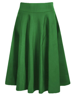 /high-waist-a-line-pleated-midi-skate-skirt-green-p-6162.html