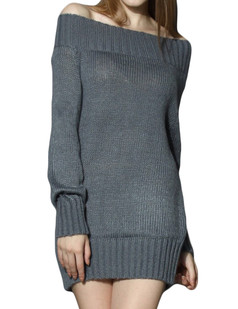 /grey-off-shoulder-ribbed-knitted-dress-p-5886.html