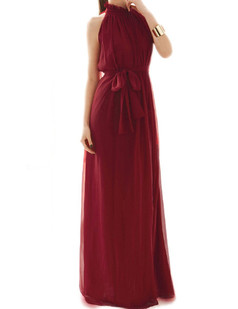 /offshoulder-laceup-chiffon-pleated-maxi-dress-red-p-1377.html