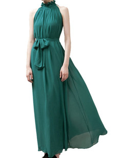 /offshoulder-laceup-chiffon-pleated-maxi-dress-green-p-1378.html