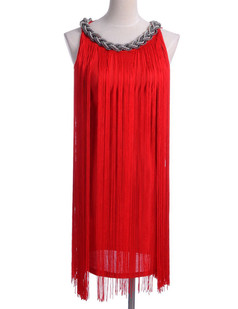 /redlong-fringe-braided-chain-neck-dress-p-1684.html