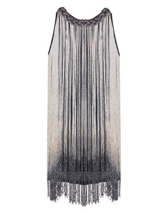 /gold-and-black-long-hanging-fringe-trim-ombre-detail-dress-p-1678.html