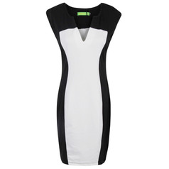 /women-v-neck-optical-illusion-pencil-dress-p-574.html