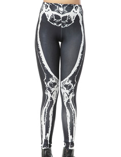 /women-goth-bones-skeleton-printed-tights-leggings-p-259.html