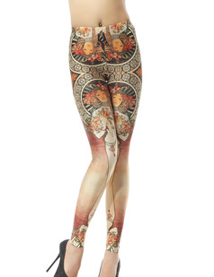 /women-church-monastery-mural-painting-printed-japanese-feeling-bodycon-tights-leggings-pants-p-281.html