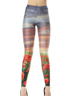 /women-tulips-floral-sunset-print-painting-stretchy-bodycon-tights-leggings-pants-p-296.html
