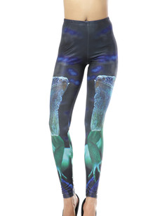 /women-punk-luminous-toad-frog-animal-print-tights-leggings-p-326.html