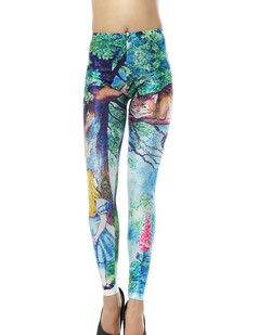 /women-cheshire-cat-in-tree-alices-adventures-in-wonderland-print-leggings-p-328.html