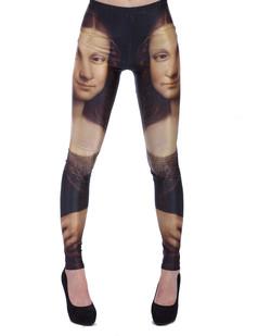 /dualtone-mona-lisa-print-leggings-p-1283.html