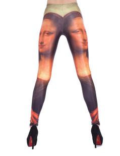/back-dualtone-mona-lisa-print-leggings-p-1284.html