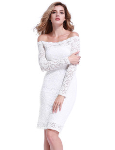 /foral-lace-off-shoulder-stretchy-midi-dress-white-p-6818.html