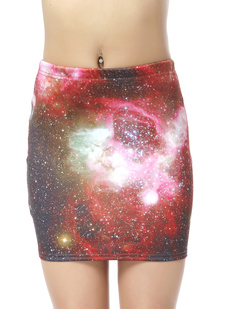 /women-colorful-galaxy-starry-sky-print-elastic-mini-skirt-p-377.html