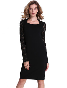 /contrast-lace-shrug-bolero-midi-shift-dress-black-p-7104.html