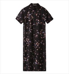 /sheer-chiffon-birds-print-shirt-dress-black-p-2468.html