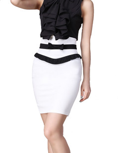 /bowknot-pencil-aline-skirt-highwaisted-ol-skirt-white-p-1306.html