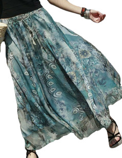 /peacock-feather-print-twoway-wear-draped-maxi-skirt-p-2984.html