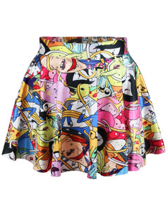 /anime-adventure-bro-ball-print-skater-skirt-p-4808.html