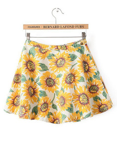/sunflower-print-high-waist-aline-flared-denim-skate-skirt-p-2040.html