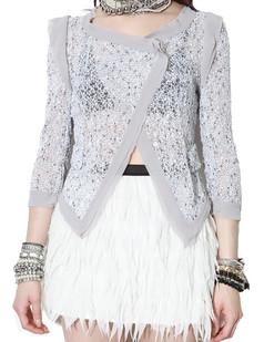 /womens-hollow-lace-34-sleeve-asymmetric-short-coat-p-704.html