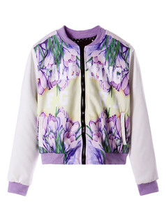 /contrast-faux-leather-carnation-print-varsity-jacket-p-851.html