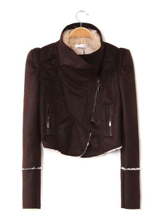 /faux-lamb-wool-motorcycle-jacket-crop-leather-jacket-p-1141.html