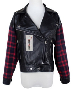 /contrast-red-plaid-lapel-zip-faux-leather-jacket-p-5678.html