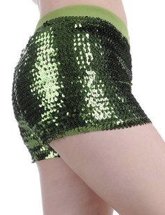 /ru/all-over-large-sequin-embellished-hot-pants-green-p-3986.html