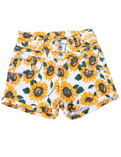 /pt/sunflower-print-denim-high-waist-shorts-hot-pants-white-p-3204.html