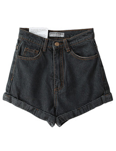 /ru/denim-highwaist-a-line-cuff-short-p-2406.html