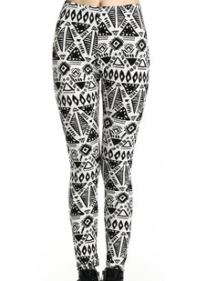 /women-black-and-white-geometric-aboriginal-style-leggings-p-403.html