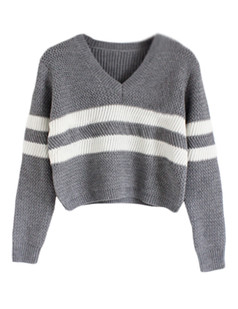 /vneck-striped-knit-crop-sweater-grey-p-5500.html