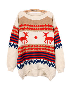 /deers-and-waves-strips-patterns-printed-sweater-beige-p-1214.html