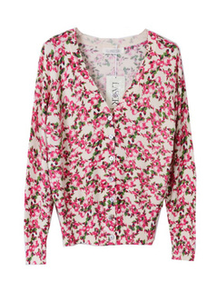 /women-v-neck-floral-print-cardigan-sweater-knitwear-p-770.html
