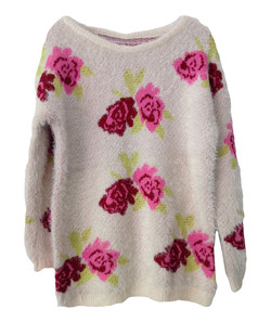 /red-rose-print-fluffy-shaggy-pullover-sweater-beige-p-5424.html
