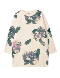 /apricot-abstract-floral-ink-loose-print-sweatshirt-p-1176.html