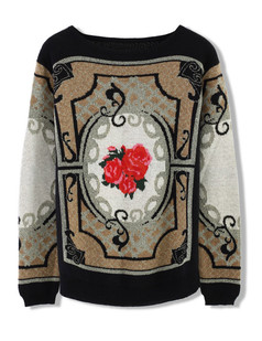 /retro-flower-baroque-totem-pattern-knit-sweater-black-p-4910.html