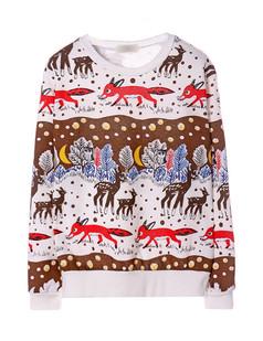 /white-long-sleeve-deer-fox-snowflake-print-sweatshirt-p-1196.html