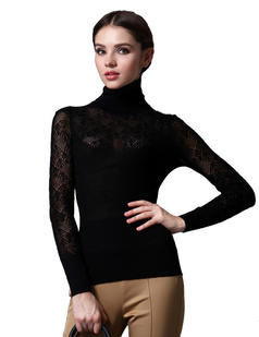 /turtle-neck-cutout-crochet-wool-pullover-thin-sweater-tops-p-860.html