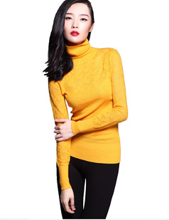 /turtle-neck-cutout-crochet-wool-pullover-thick-sweater-tops-p-862.html