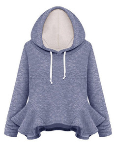 /blue-hooded-long-sleeve-ruffle-sweatshirt-p-5382.html