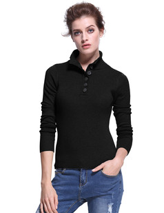 /mock-neck-slim-fit-ribbed-pullover-sweater-top-black-p-7306.html