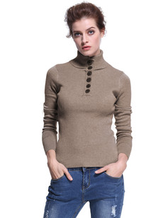 /mock-neck-slim-fit-ribbed-pullover-sweater-top-camel-p-7318.html