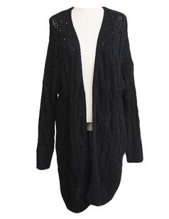 /cable-open-knit-loose-long-cardigan-black-p-5358.html