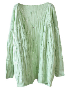 /cable-open-knit-loose-long-cardigan-green-p-5354.html