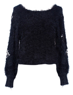 /es/mesh-rose-insert-sleeves-mohair-sweater-black-p-5754.html