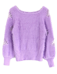 /mesh-rose-insert-sleeves-mohair-sweater-purple-p-5756.html