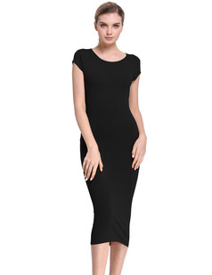 /cap-sleeve-ribbed-knitted-seam-back-bodycon-midi-dress-black-p-7722.html