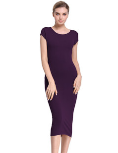 /cap-sleeve-ribbed-knitted-seam-back-bodycon-midi-dress-purple-p-7724.html