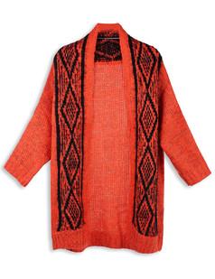 /diamond-printing-long-sleeve-cardigan-red-p-4652.html
